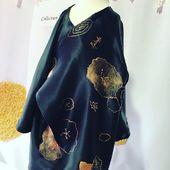 Création MiLauRe  Je serai belle comme maman.  Petit kimono pour enfant 1-2 ans.