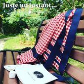 Création MiLauRe . . #vichydress #vichydresscode #vichyfan #garden #petitcarreaux #rueilmalmaison #artisanatfrancais #artisanatdart #chambredesmetiersetdelartisanat #madeinfrance #red #elegance #kimonostyle #kimonodress #chiclove